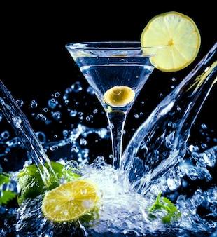 Verse cocktails. eten en drinken concept