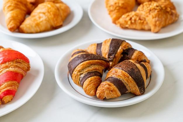 Verse croissant met chocolade