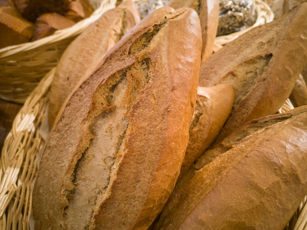 Verse en smakelijke bakkerijproducten
