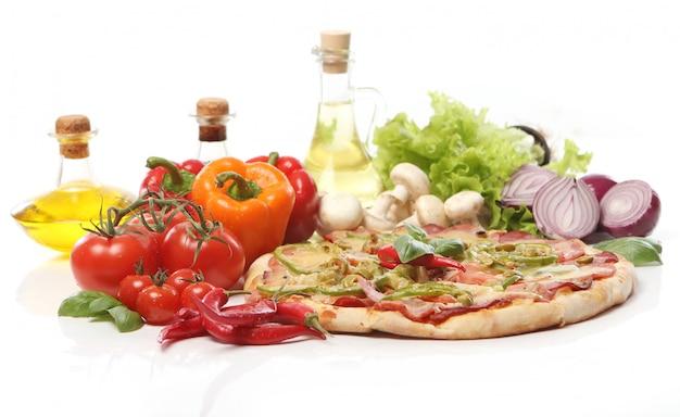 Verse en smakelijke pizza