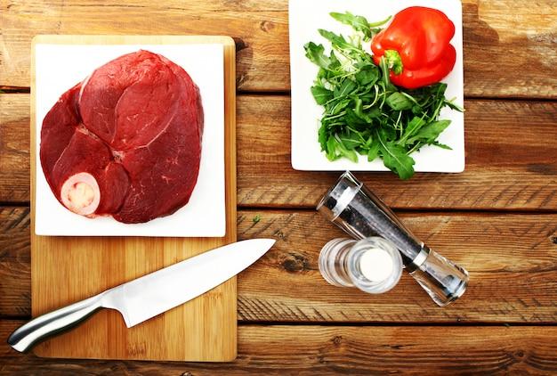 Verse en zeer smakelijke biefstuk
