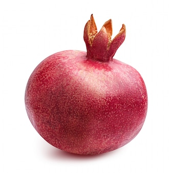 Verse geïsoleerde granaatappel