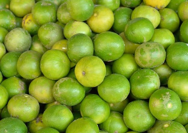 Verse groene limoen