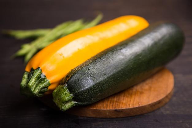 Verse groenten in de studio