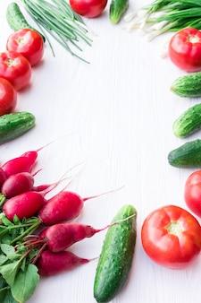 Verse groenten uit de tuin