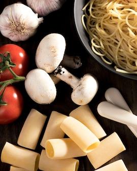 Verse groenten voor italiaans eten