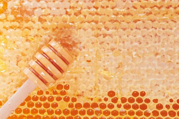 Verse honingraten achtergrond