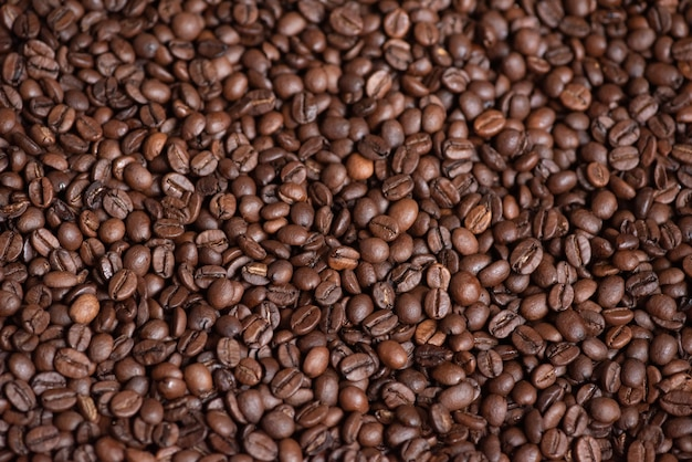 Verse koffiebonen achtergrond