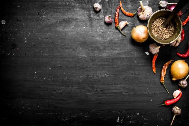 Verse kruiden en specerijen.