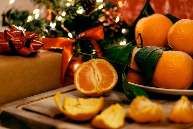 Verse mandarijnen voor de nieuwjaarsvakantietafel