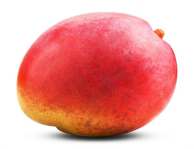 Verse mango geïsoleerd op wit