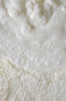 Verse melk. bellen die scèneachtergrond vormen.