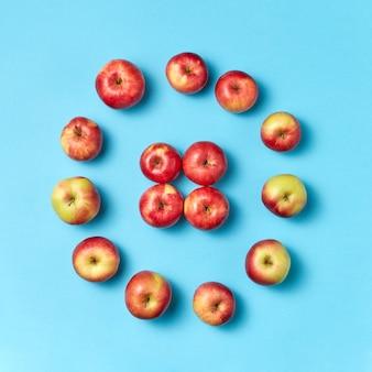 Verse natuurlijke appelsamenstelling