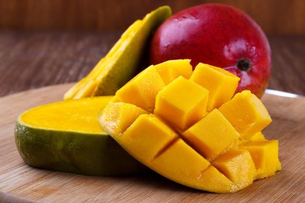 Verse organische mango
