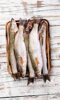 Verse rauwe vis