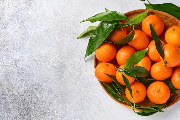 Verse, sappige clementine-mandarijnen, winterfruit