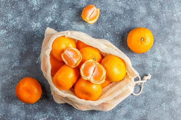 Verse, sappige clementine-mandarijnen.