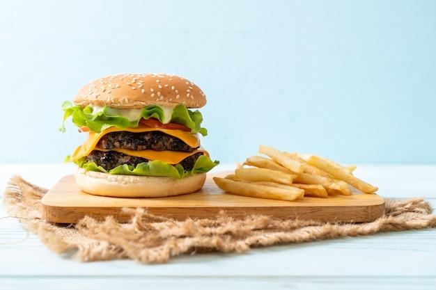 Verse smakelijke hamburger