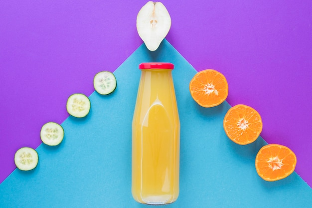 Verse smoothie van fruit