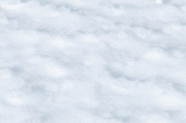 Verse sneeuw abstracte textuur achtergrond
