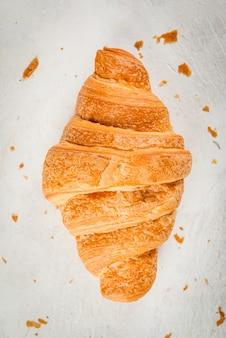 Verse zelfgemaakte croissants