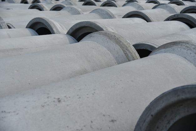 Versterkte betonnen buizen met grote diameter voor communicatie