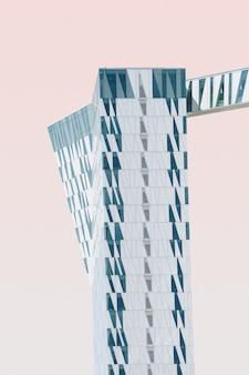 Verticale opname van een exotische structuur