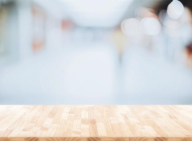 Vervaag de abstracte achtergrond van kantoor, moderne lichte ruime business room