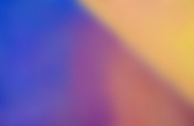 Vervaag de kleurrijke abstracte achtergrond van de olieverf.