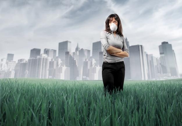 Vervuiling in de stad