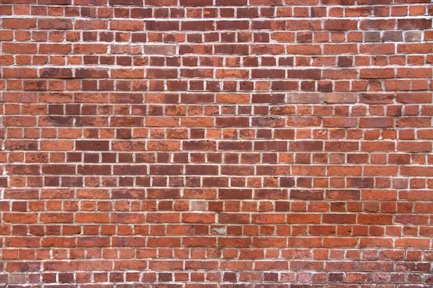 Verweerde bakstenen muur textuur