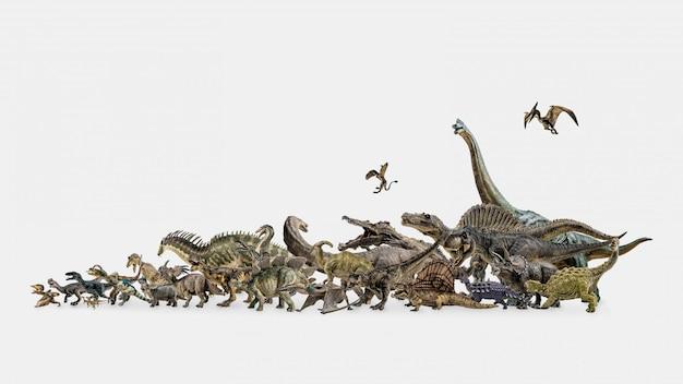 Verzamel dinosaurus