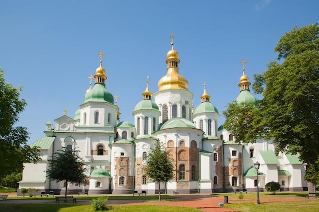 Verzamelaar van st. sophia, sophia kathedraal. oekraïne kiev. religie christendom orthodoxe cultuur