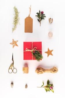 Verzameling van mooie verschillende ornamenten