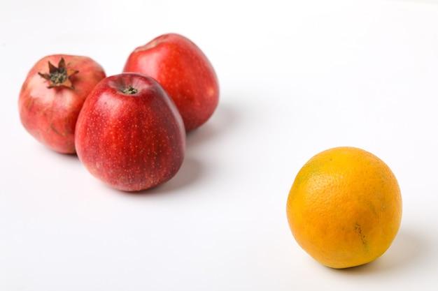 Verzameling van verschillende soorten fruit
