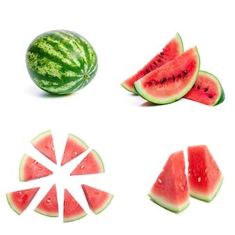 Verzameling vers meloenfruit