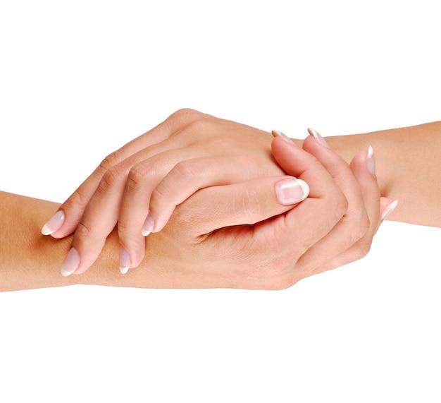 Verzorging van de hand