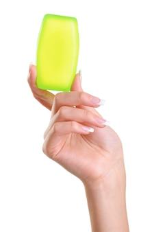 Verzorging van vrouwelijke hand