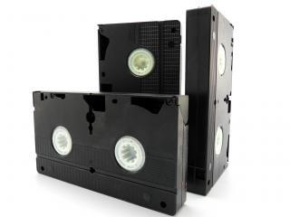 Vhs-cassettes, verouderde