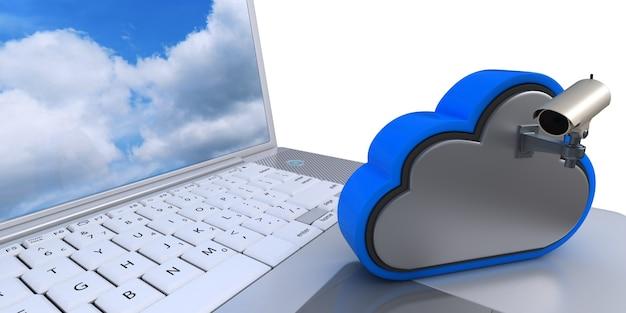 Videocamera in de cloud