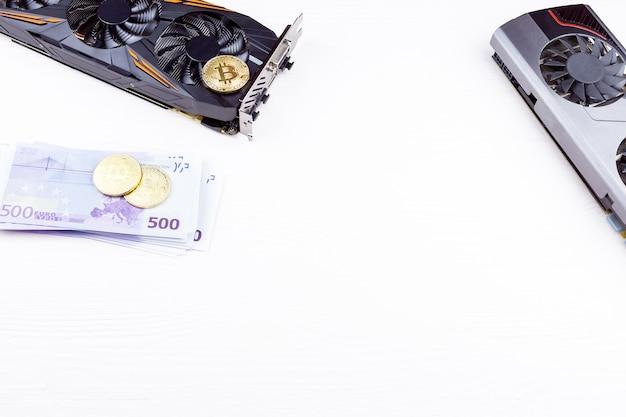 Videokaart en bitcoin