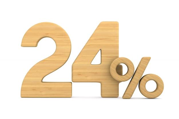 Vierentwintig procent op wit