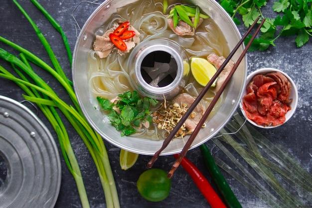 Vietnamese phobo-soep, aziatische keuken