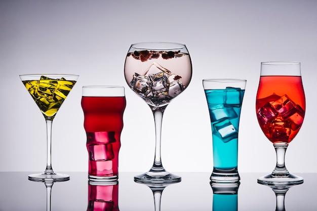 Vijf cocktails