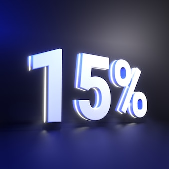 Vijftien procent nummerweergave
