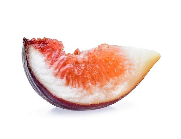 Vijgen fruit geïsoleerd op een witte achtergrond