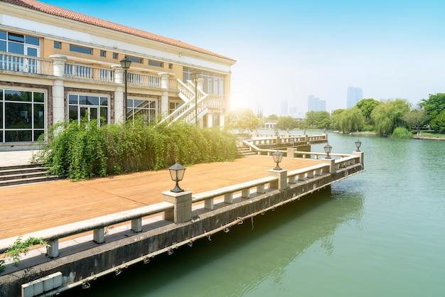 Villa resort in europese architecturale stijl