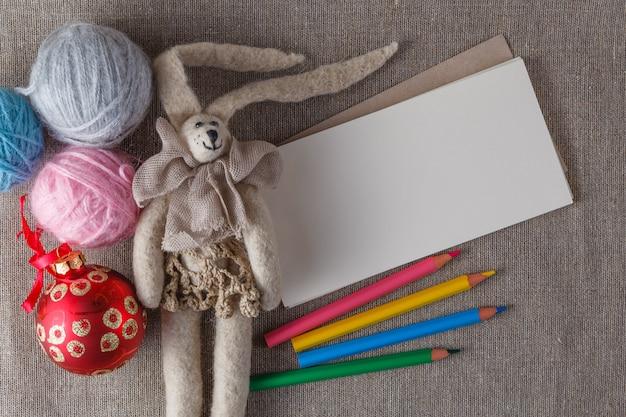Vilten pop op ruimte met ruimte voor je bericht