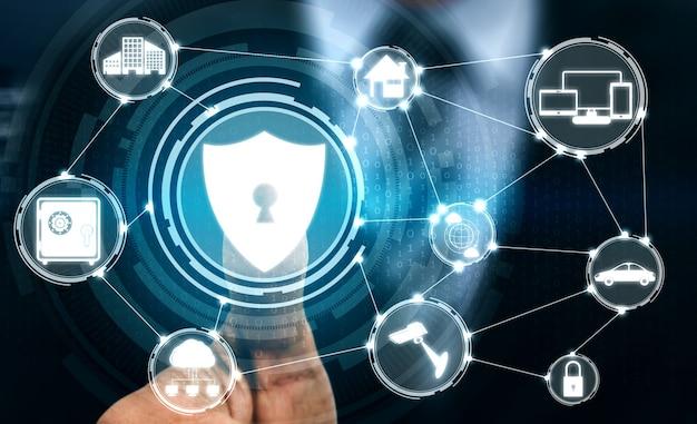 Vingerafdruk biometrische digitale scantechnologie