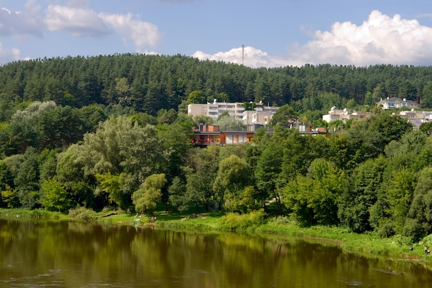 Vingio parka's en rivier in vilnius